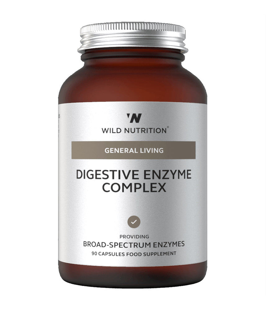 Wild Nutrition Digestive Enzyme Complex Food-Grown®