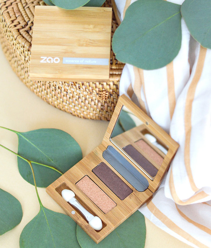 Zao Bamboo Magnetic Palette - Duo