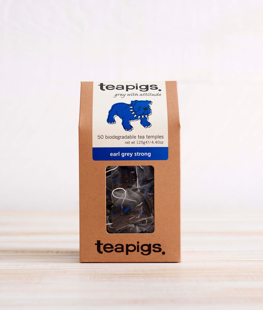 Teapigs Earl Grey Strong Tea - x50 Tea Temples
