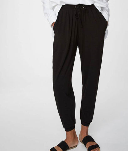 Thought Clothing Emerson Bamboo Loungewear Trousers - Black