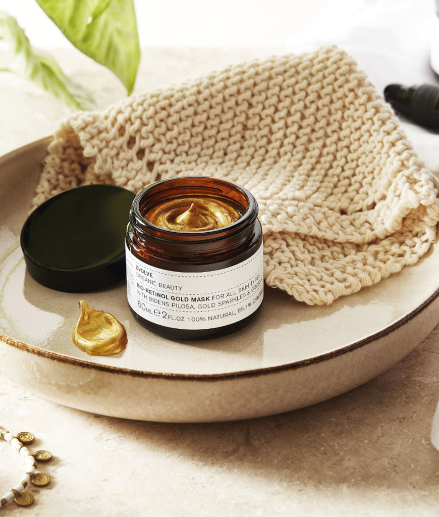 Evolve Beauty Bio-Retinol Gold Mask MINI - 30ml