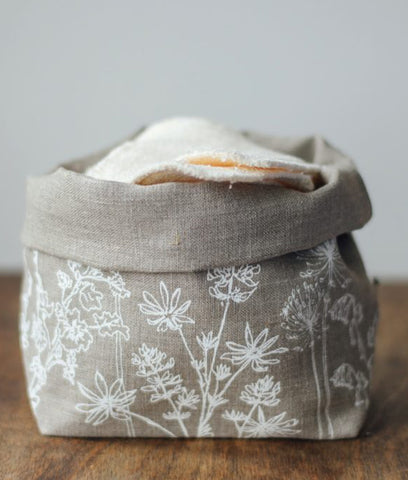 Helen Round Fabric Storage Pot