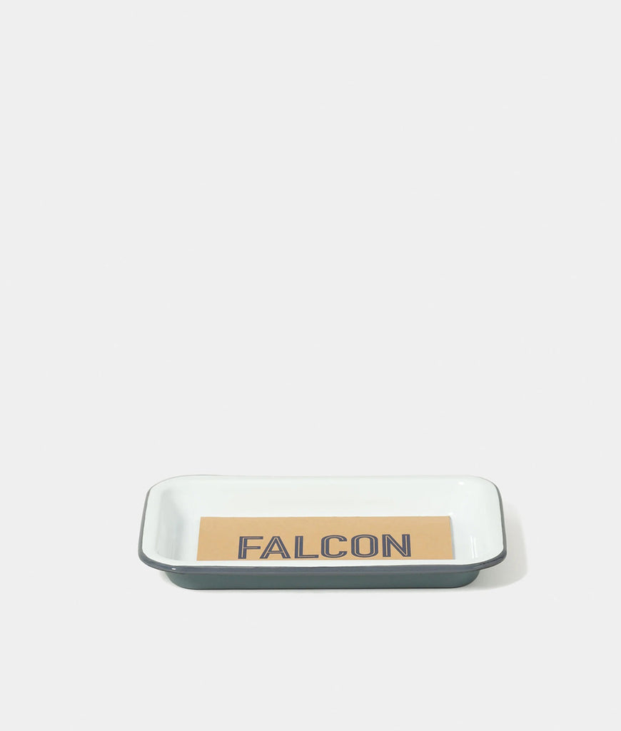 Falcon Enamelware Small Tray - Pigeon Grey