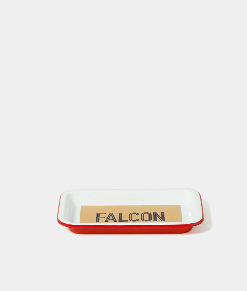 Falcon Enamelware Small Tray - Pillarbox Red