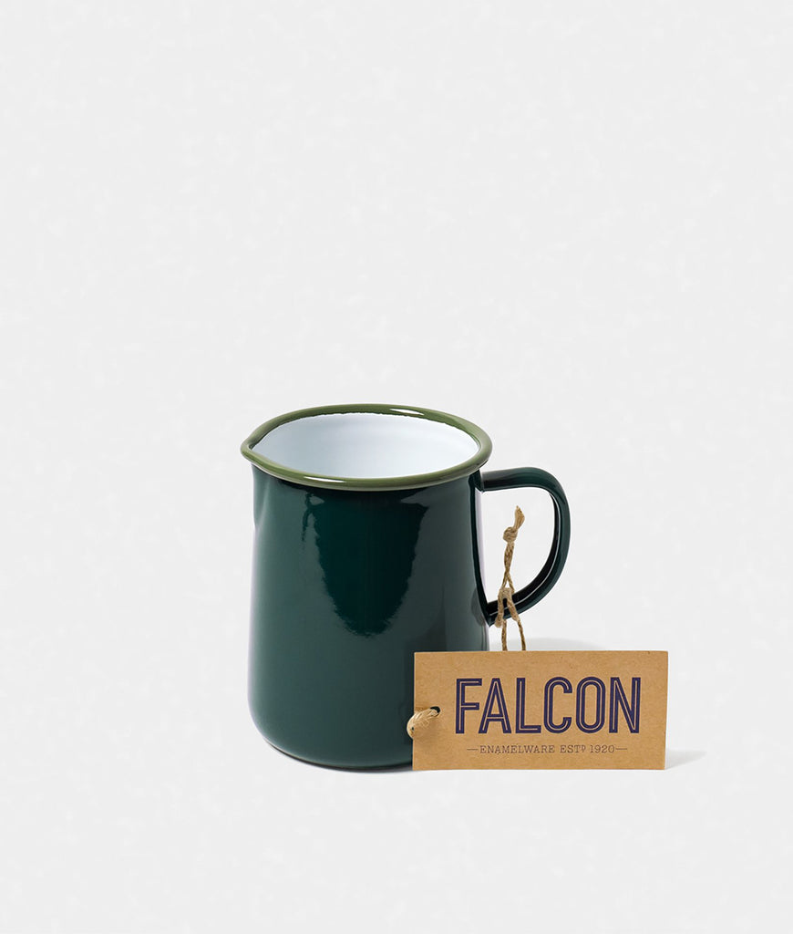 Falcon Enamelware 1 Pint Jug - Samphire Green
