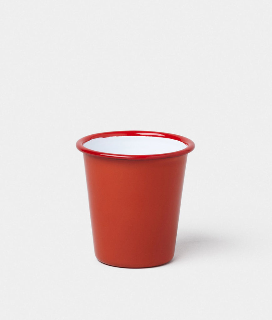 Falcon Enamelware Tumbler - Pillarbox Red