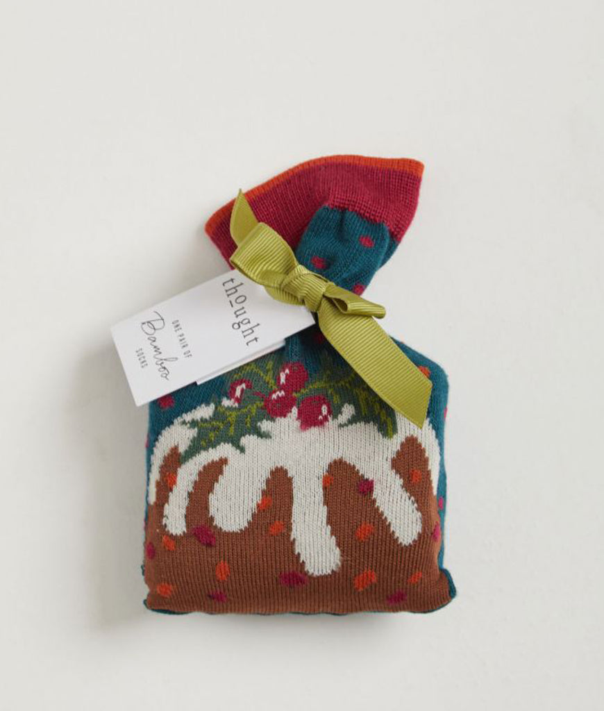 Thought Clothing Figgy Pudding Socks In A Bag