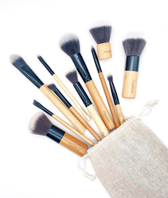 Flawless Makeup Brush Set - x10 Brushes