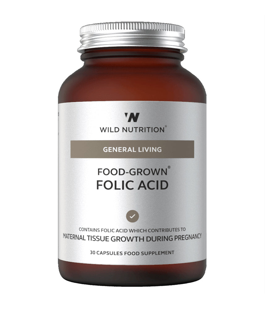 Wild Nutrition Folic Acid Food-Grown®