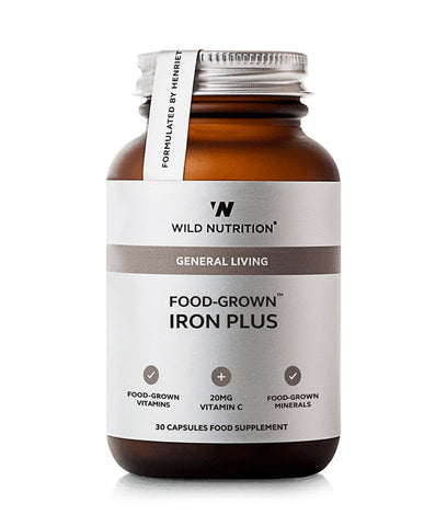 Wild Nutrition Iron Plus Food-Grown®