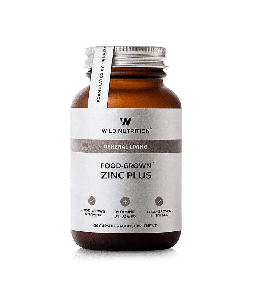 Wild Nutrition Zinc Plus Food-Grown®