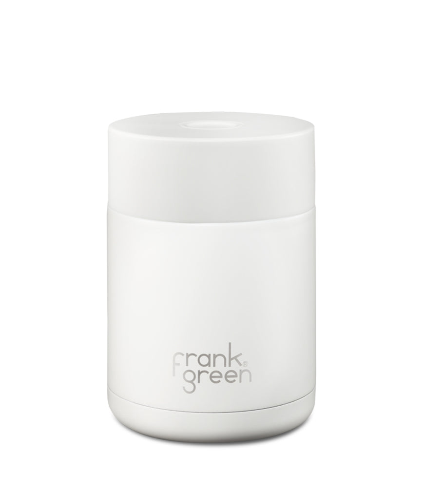 Frank Green Ceramic Reusable Canister 475ml - Cloud