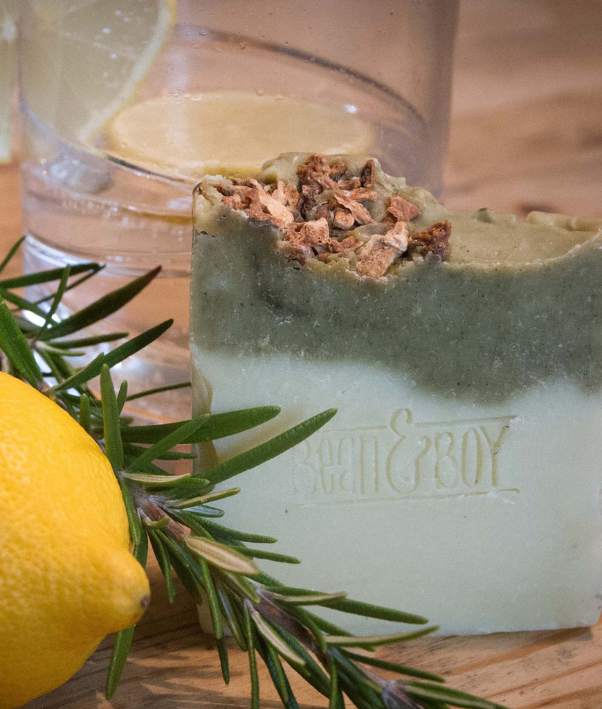 Bean & Boy Gin & Tonic Soap Bar - 110g