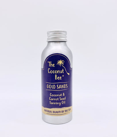 EXPIRED The Coconut Bee Gold Sands Tanning Oil - 100ml