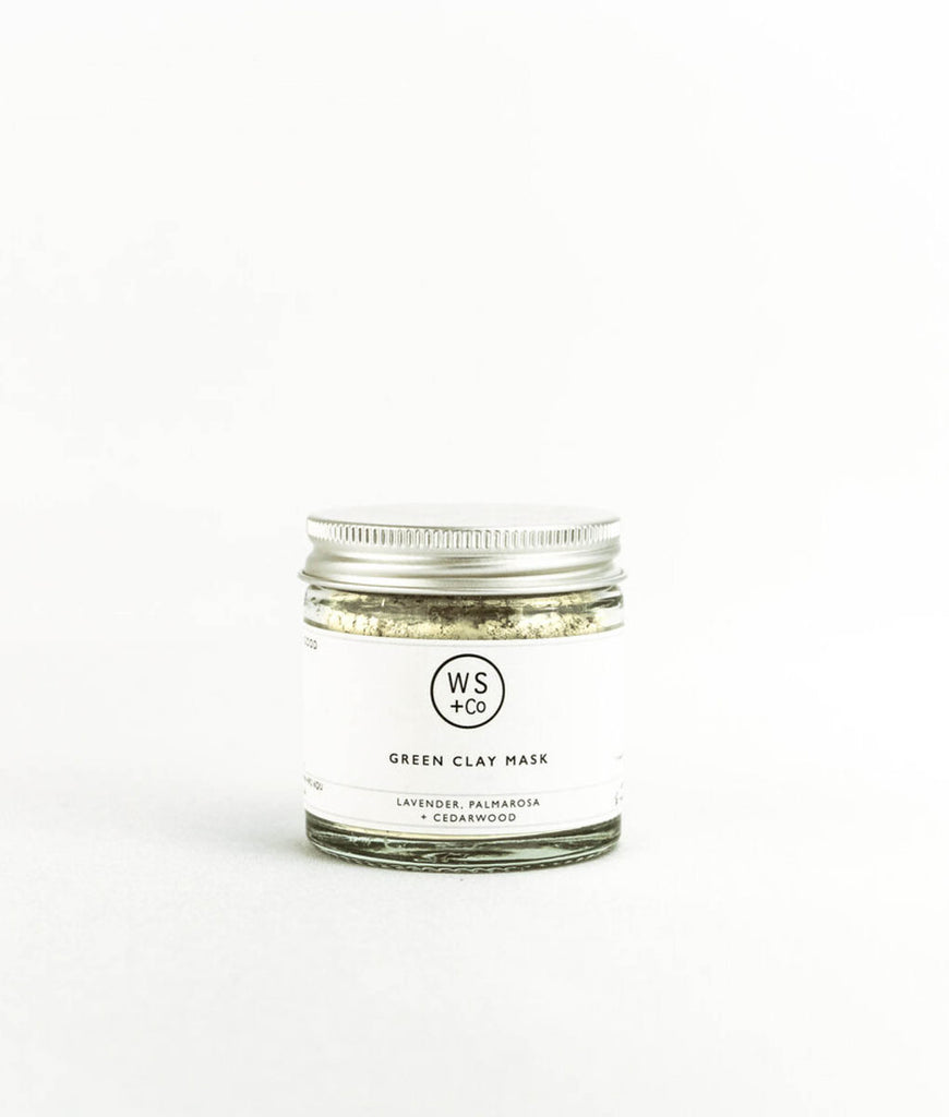 Wild Sage + Co Green Clay & Kelp Face Mask - 30g