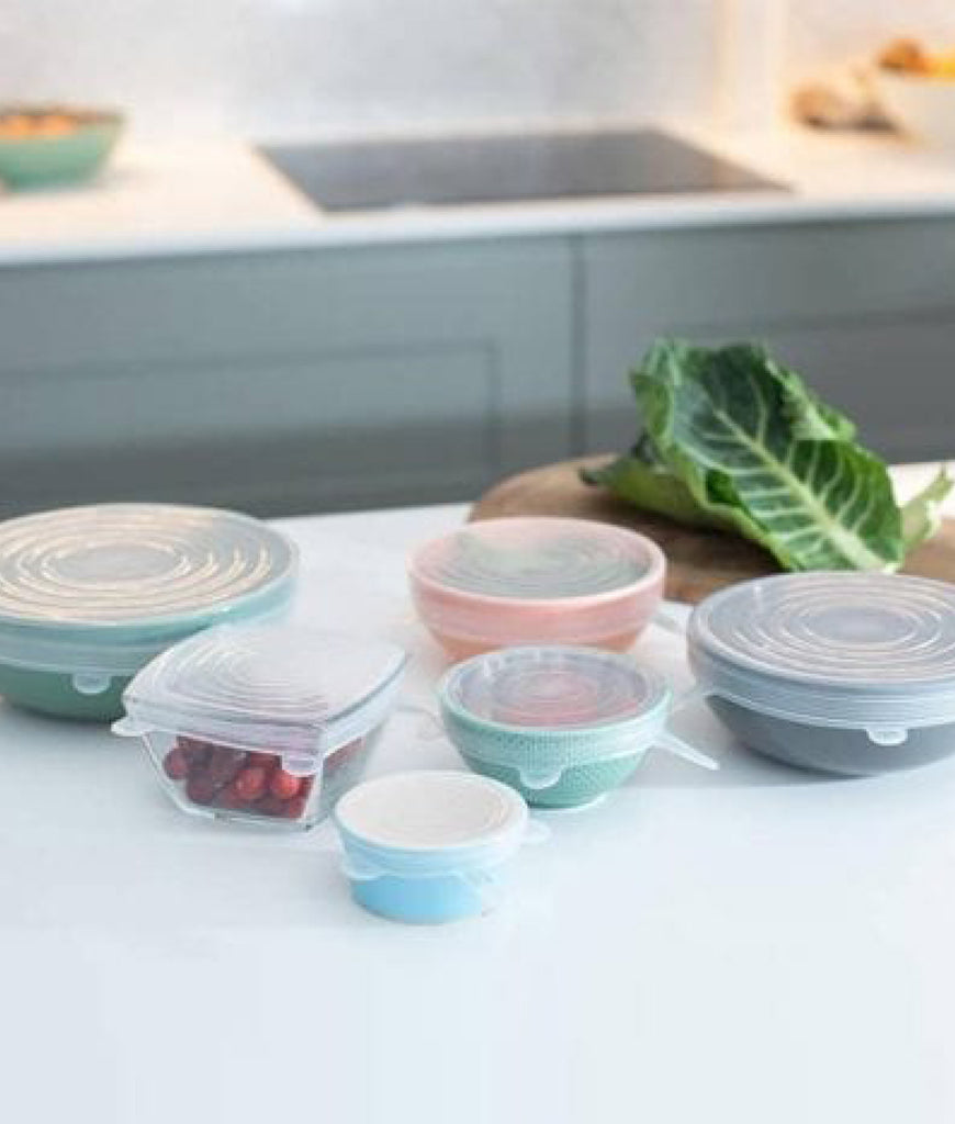 Green Island Silicone Stretch Lids - x6 Pack