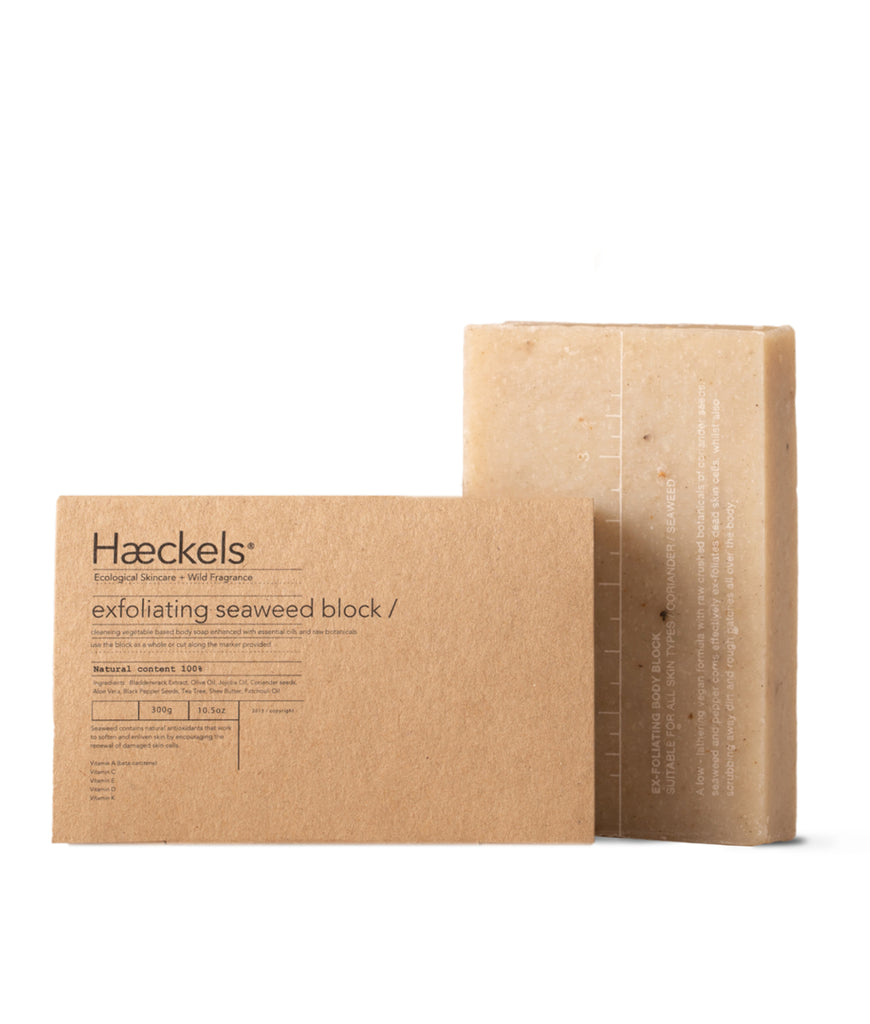 Haeckels Large Exfoliating Vegan Seaweed Block - 320g