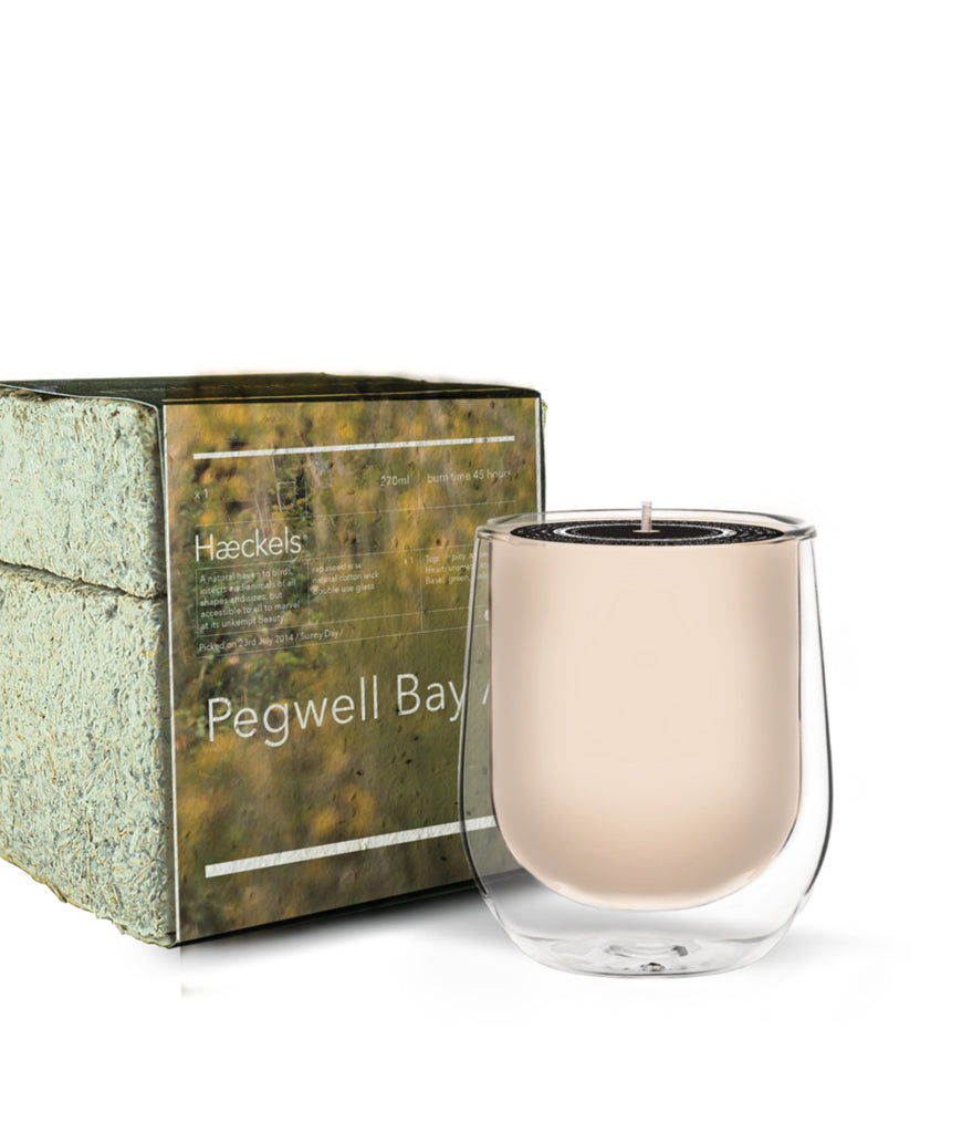 DAMAGED Haeckels Pegwell Bay Candle