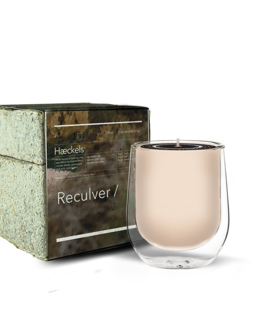 Haeckels Reculver Bay Candle