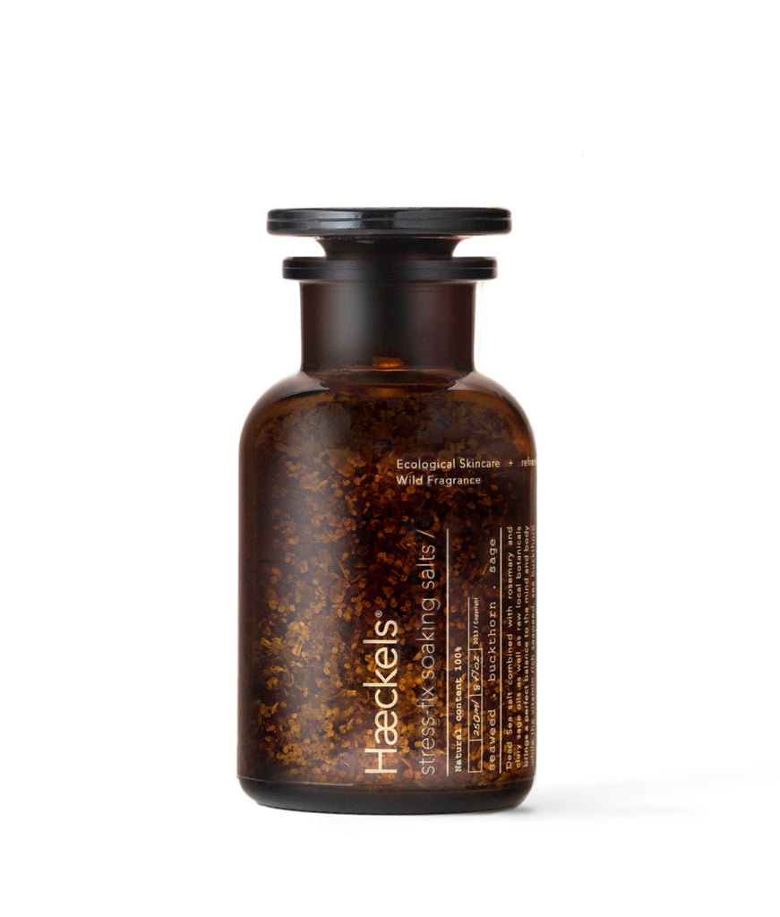 Haeckels Stress-Fix Soaking Bath Salts - 250ml
