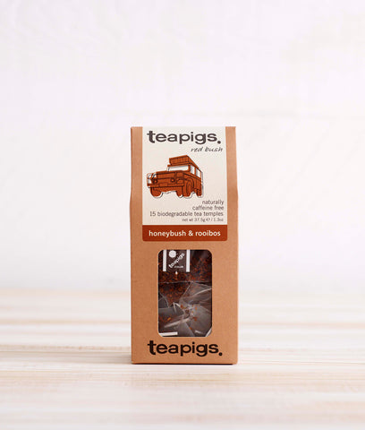 Teapigs Honeybush + Rooibos Tea - x15 Tea Temples