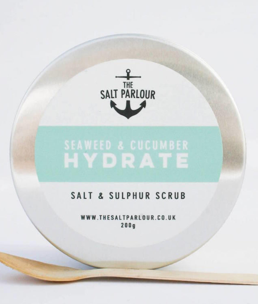 The Salt Parlour Seaweed & Cucumber HYDRATE - 200g