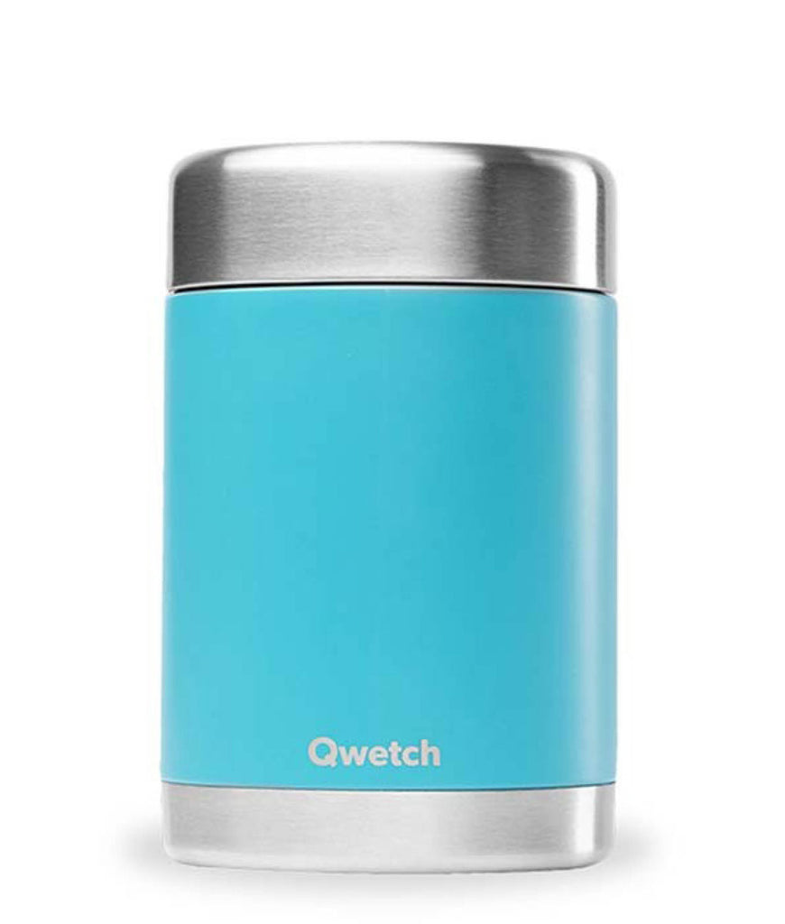 Qwetch Stainless Steel Food Jar Turquoise - 650ml