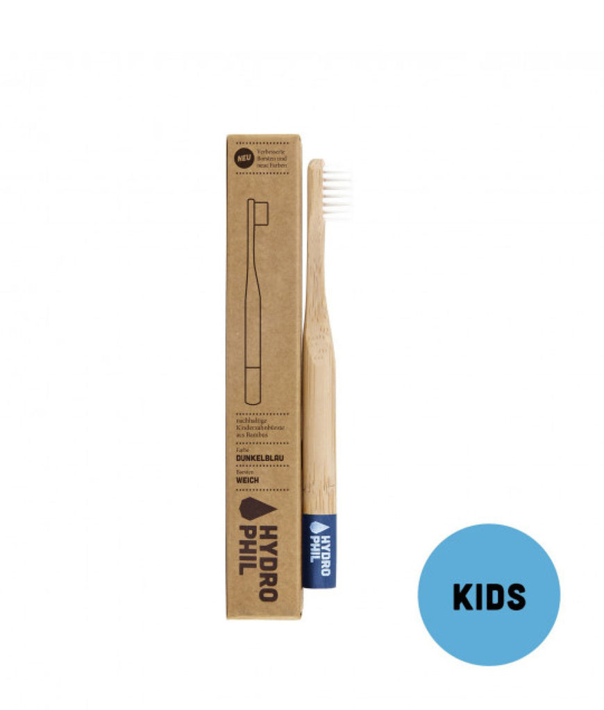 Hydrophil Kids Bamboo Toothbrush - Blue