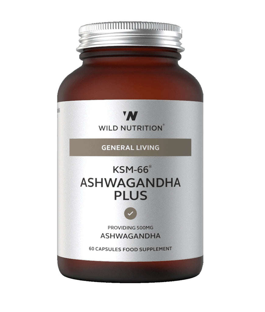 Wild Nutrition KSM-66 Ashwagandha Food-Grown®