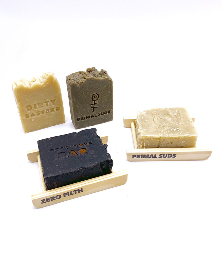 Primal Suds Bamboo Soap Ladder