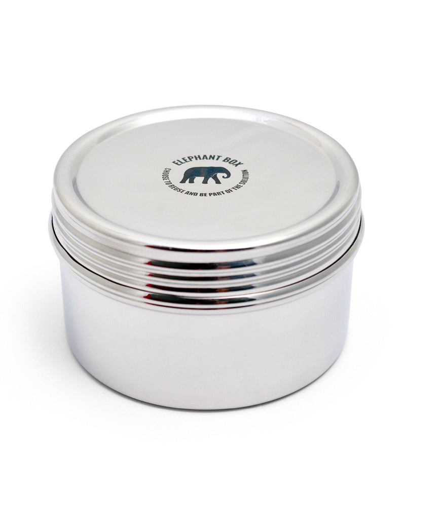 Elephant Box Large Twist Canister