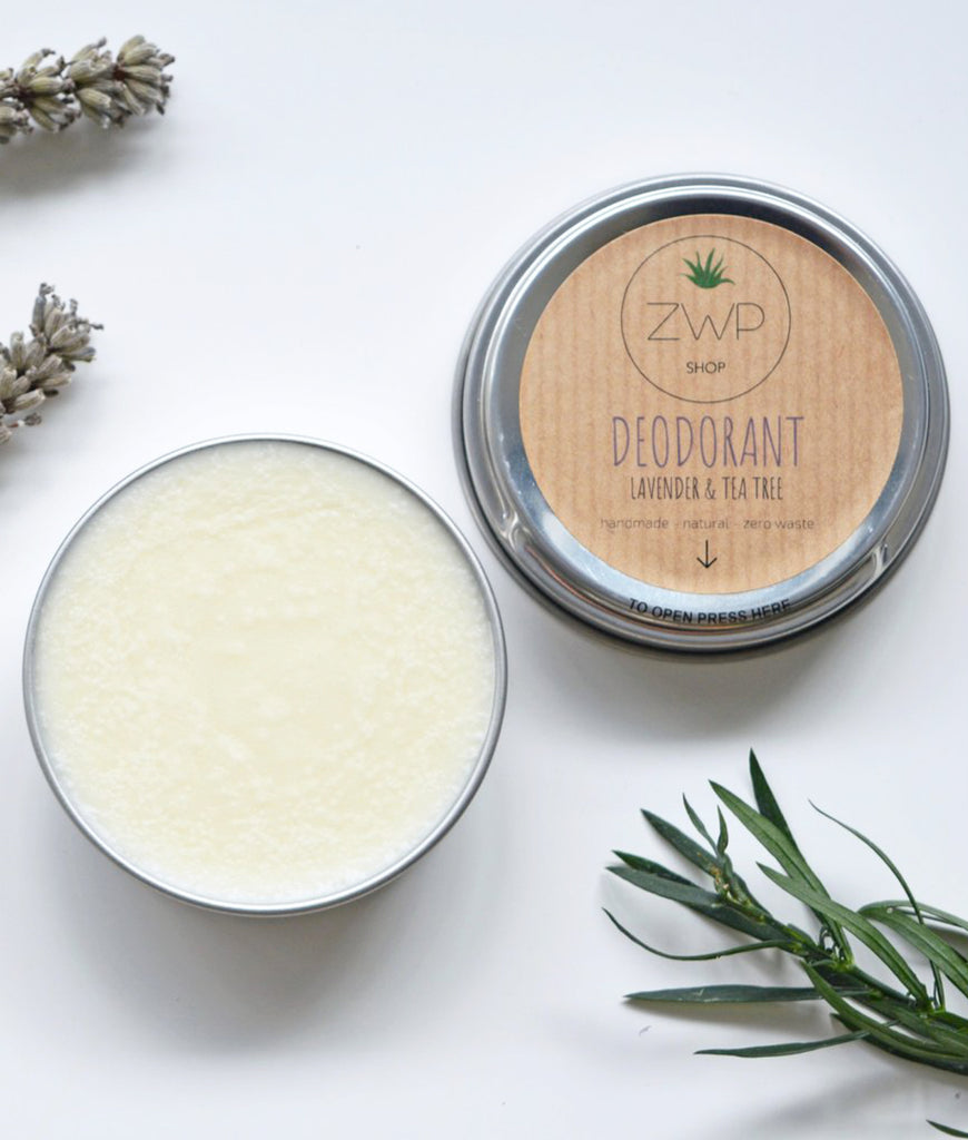 Zero Waste Path Deodorant 60g - Lavender + Tea Tree