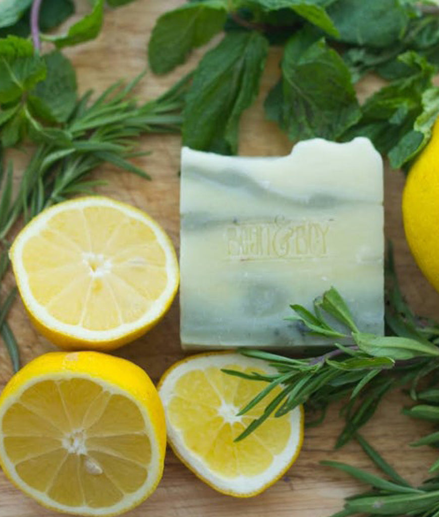 Bean & Boy MINI Lemon & Herb Soap Bar - 40g