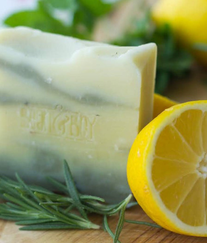 Bean & Boy Lemon & Herb Soap Bar - 110g