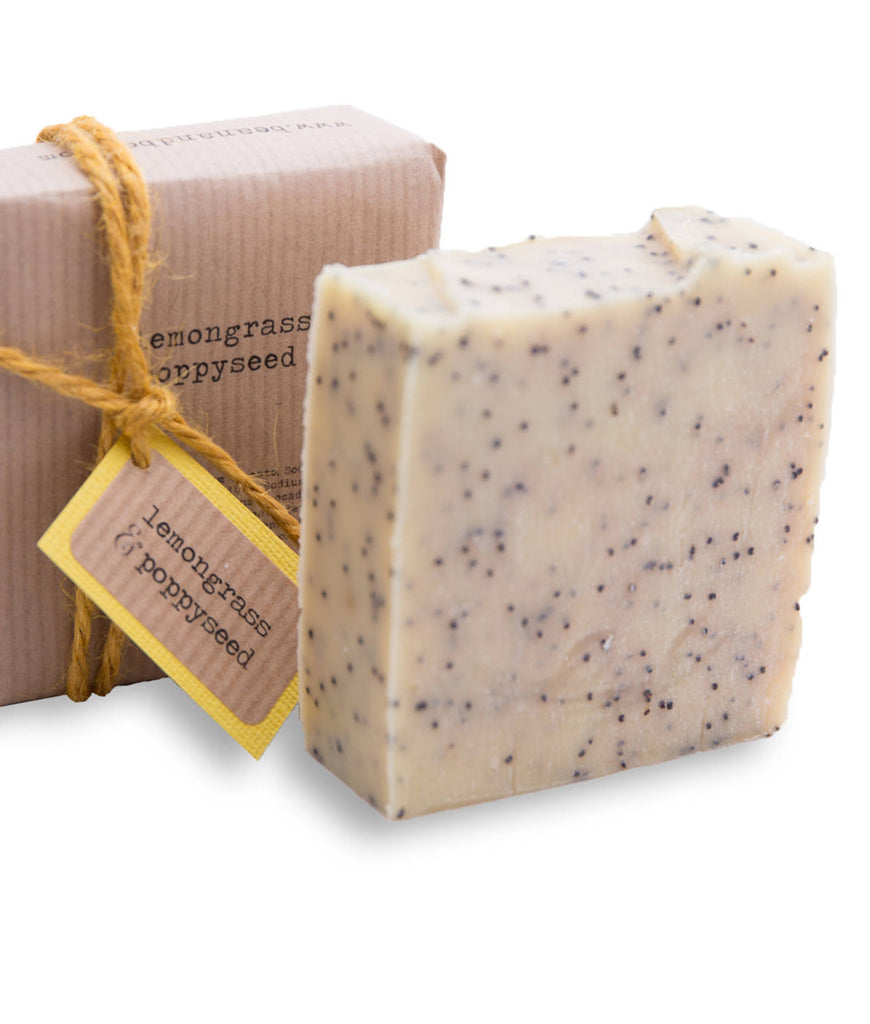 Bean & Boy MINI Lemongrass & Poppyseed Soap Bar - 40g