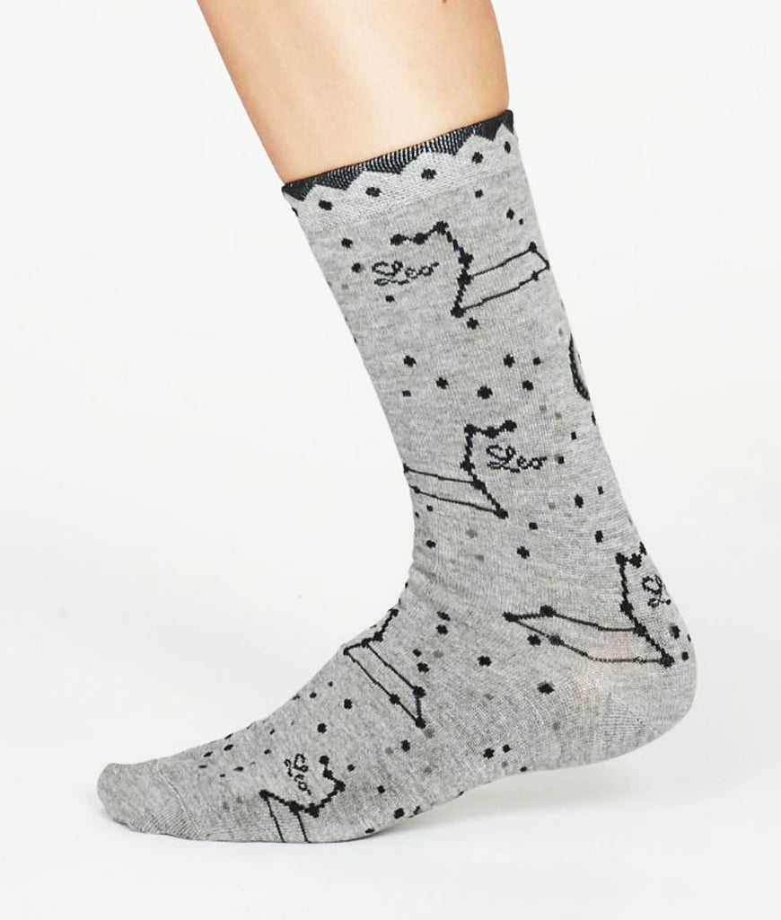 Thought Clothing Bamboo Zodiac Star Sign Socks - Leo