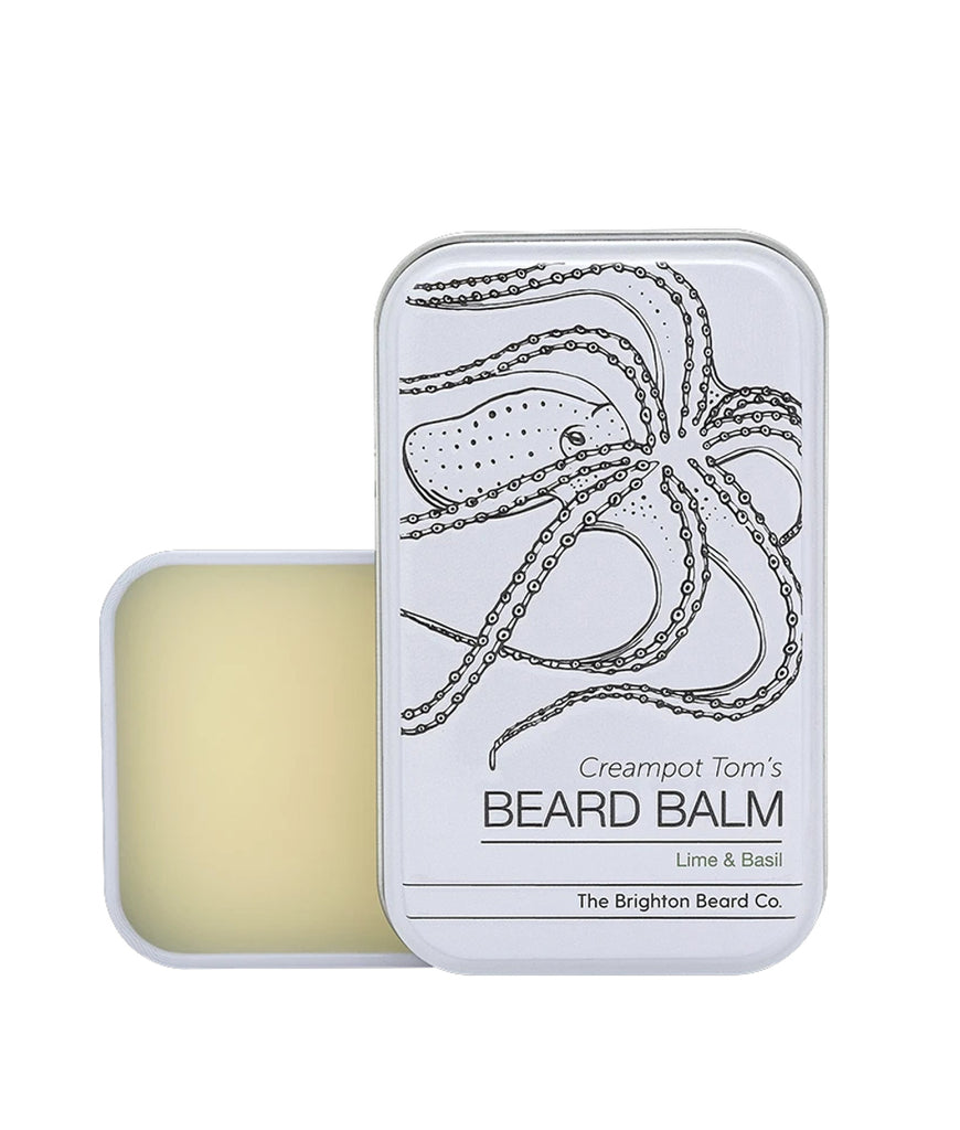 Brighton Beard Co Creampot Tom's Beard Balm 80ml - Lime & Basil