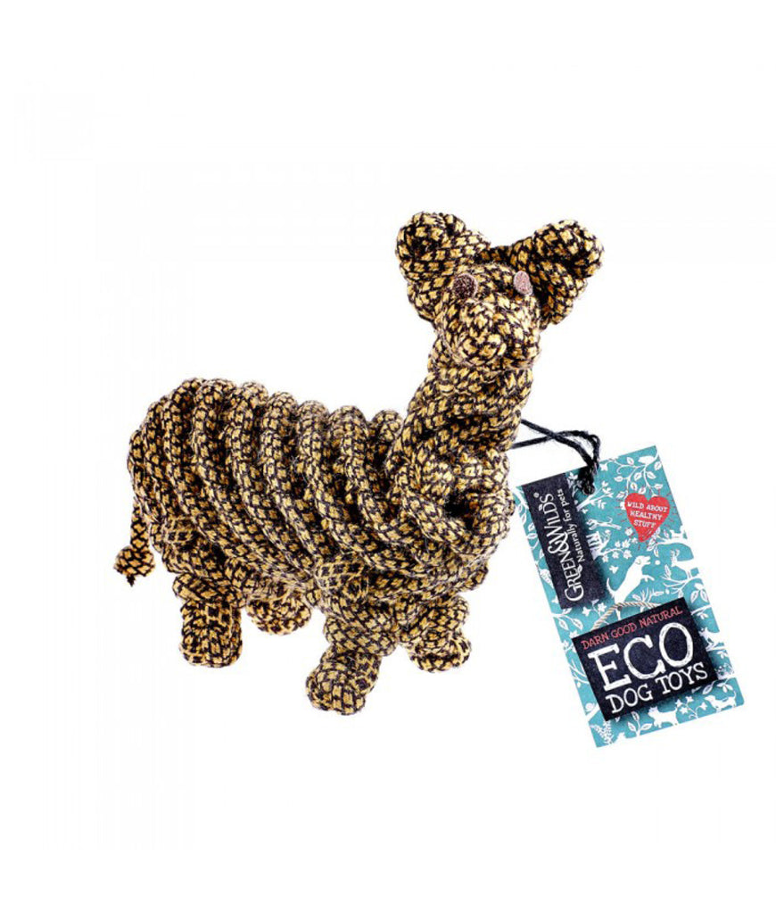 Green & Wild's Eco Dog Toy - Lionel the Llama
