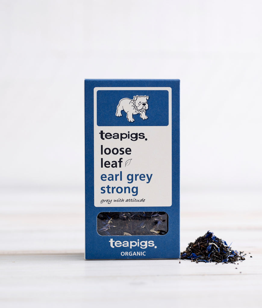 Teapigs Earl Grey Strong Loose Leaf Tea - 100g