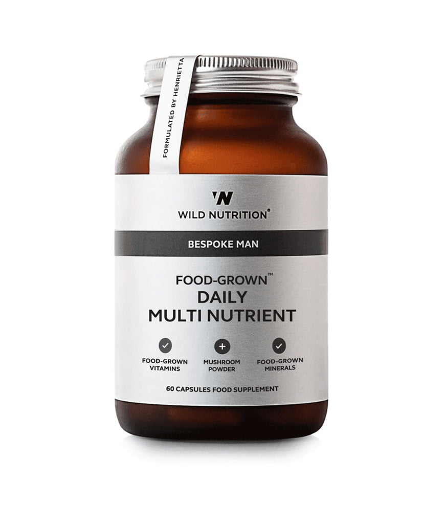 Wild Nutrition Men's Daily Multi Nutrient Food-Grown®