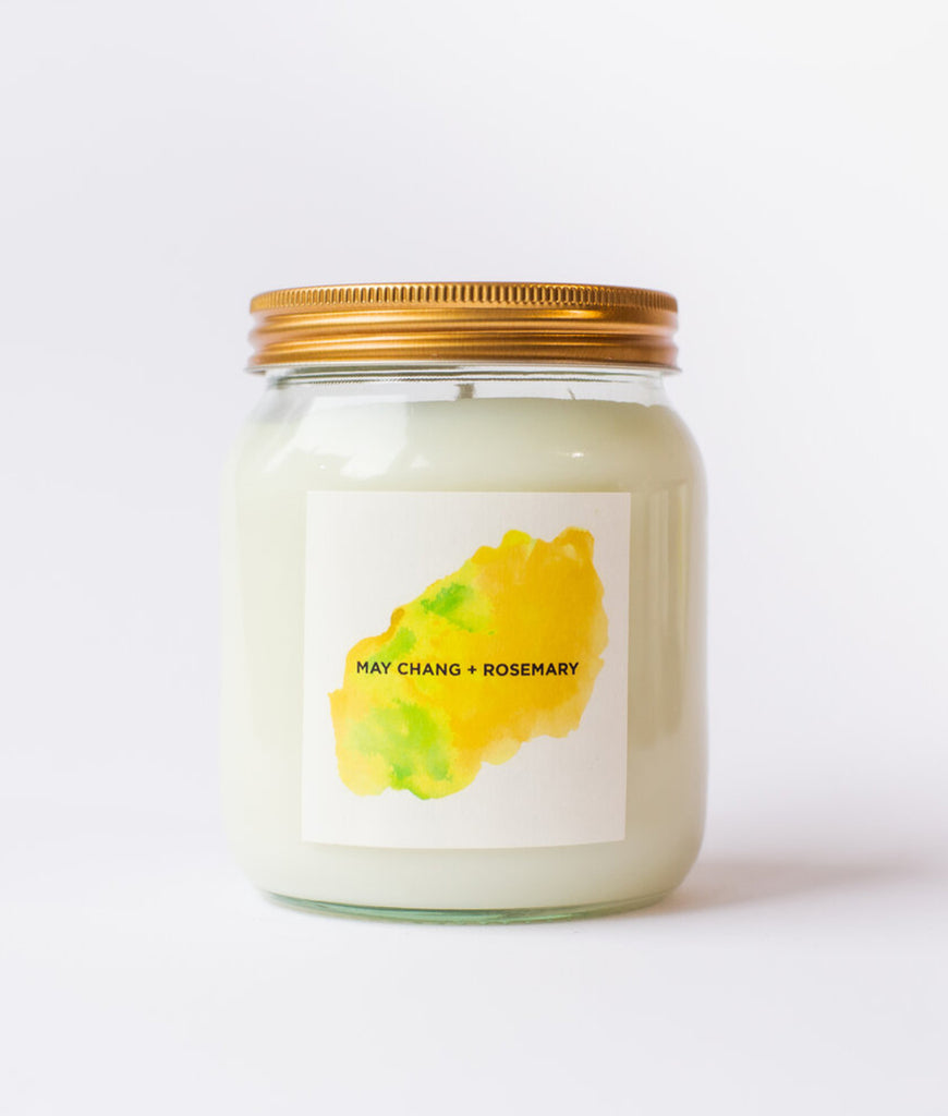 Self Care Co Aromatherapy Candle - May Chang & Rosemary