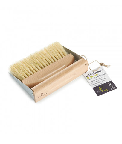 Eco Living MINI Dust Pan & Brush Set With Magnets