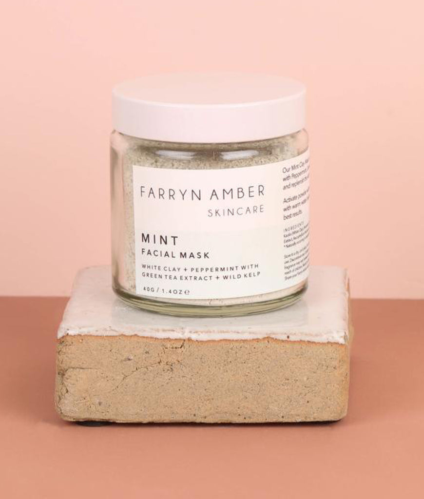 Farryn Amber Mint Facial Mask - 40g
