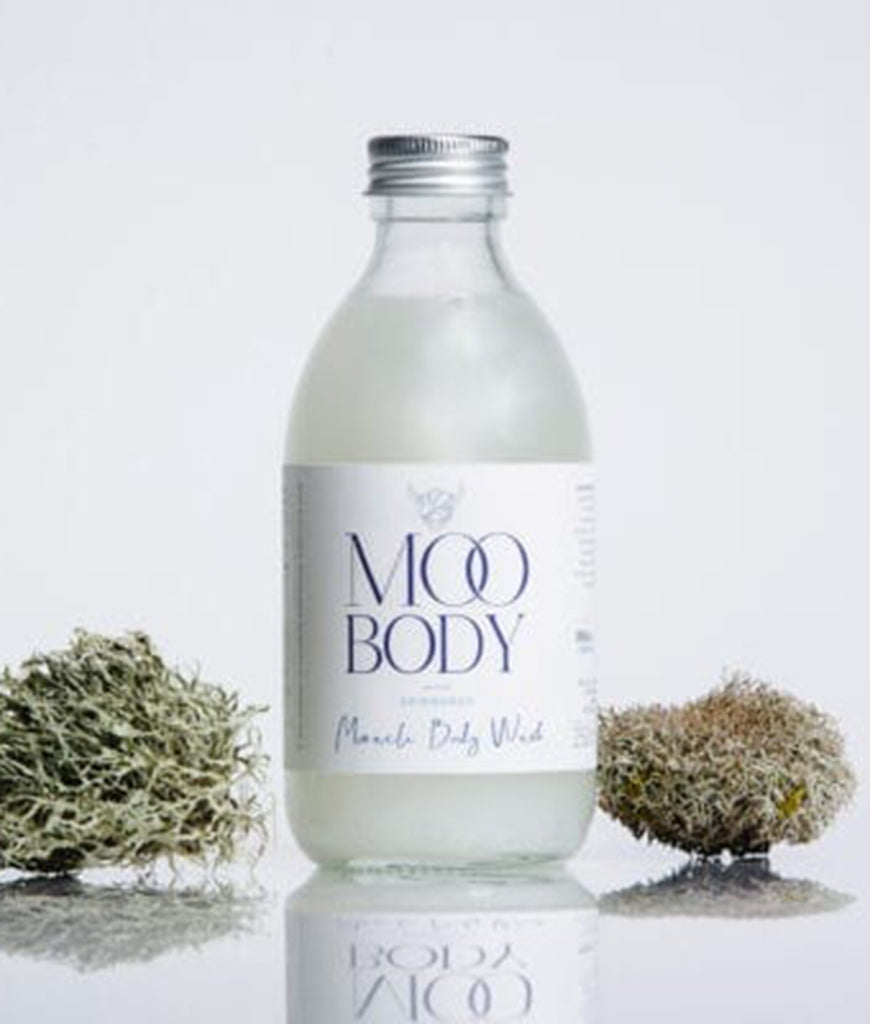 Moo Body Miracle Body Wash 250ml - Aluminium Lid