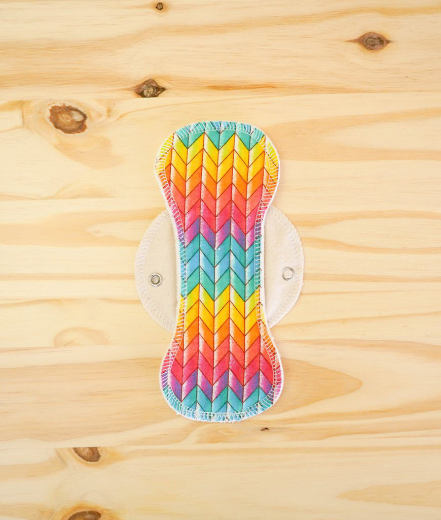 Marley's Monsters Moon Pads Light Rainbow Chevron - x3 Pack