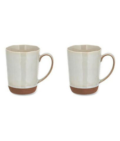 Nkuku Edo Coffee Mug Terracotta - Large