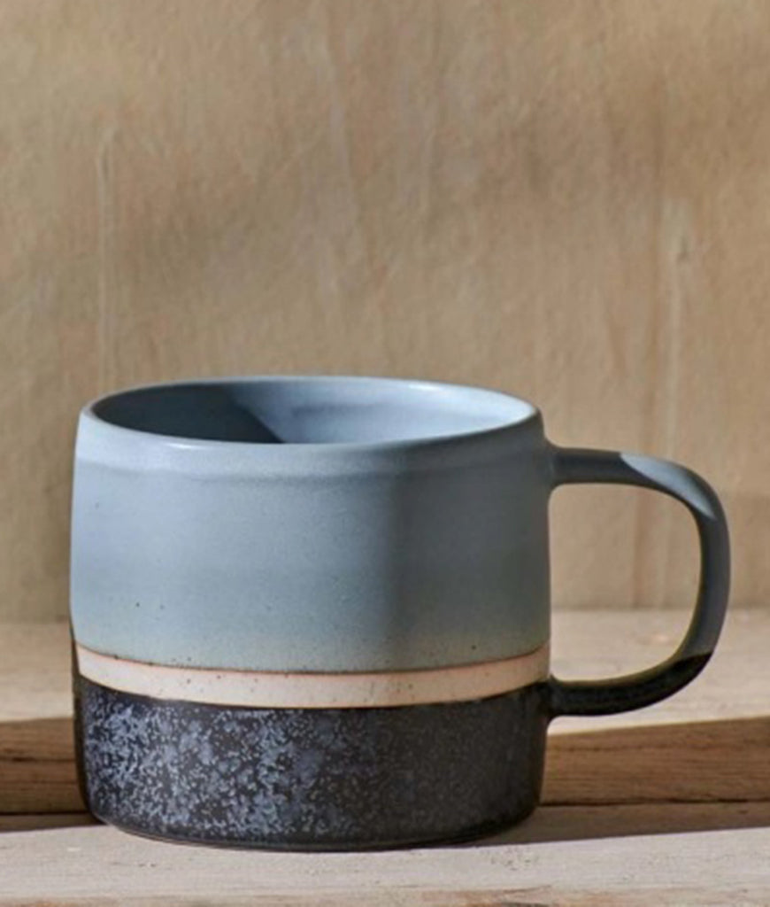 Nkuku Enesta Dipped Mug - Dusty Blue
