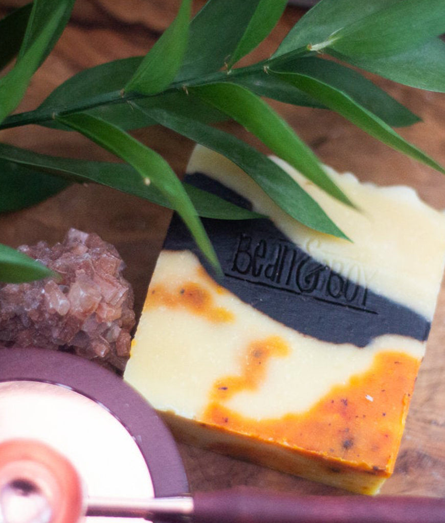 Bean & Boy MINI Orange & Cacao Soap Bar - 40g