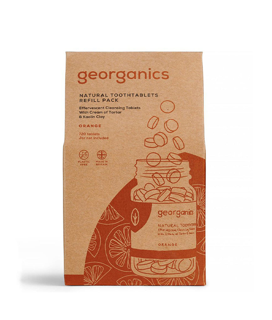 Georganics Toothpaste Tablets Orange - x720