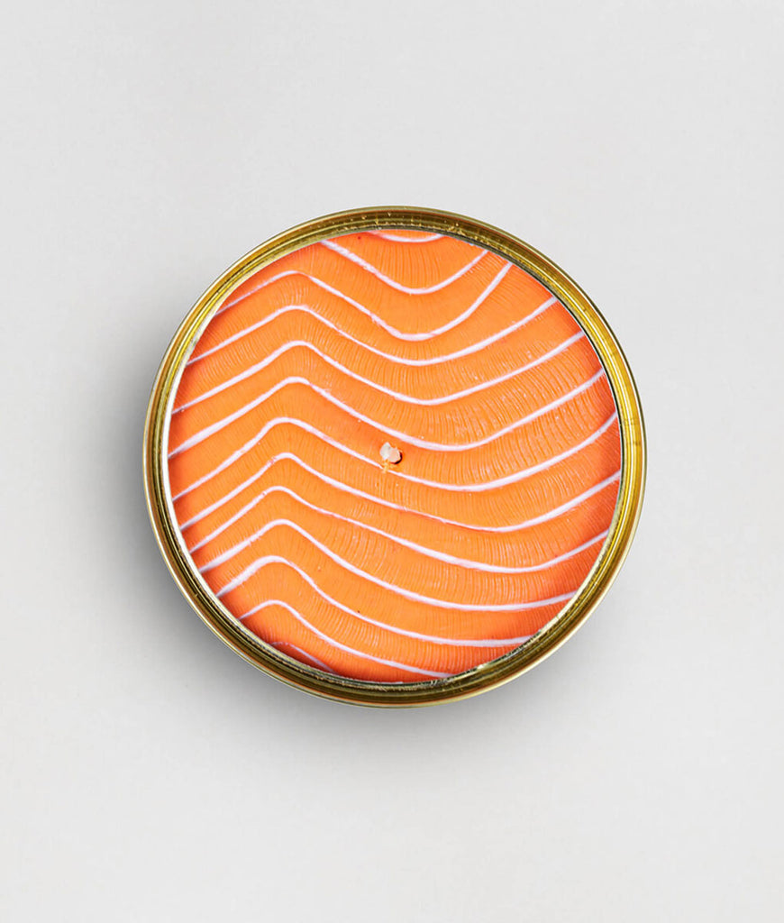 CandleCan Scented Candle - Orange Salmon
